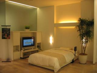 風水インテリアでお部屋の模様替え: 風水インテリア 寝室:色は ...