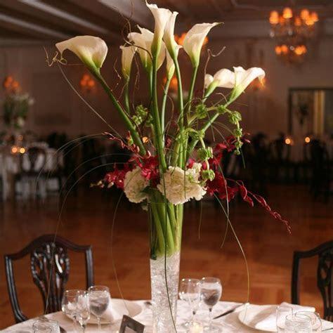 Calla Lilies Centerpieces for Weddings   Wedding