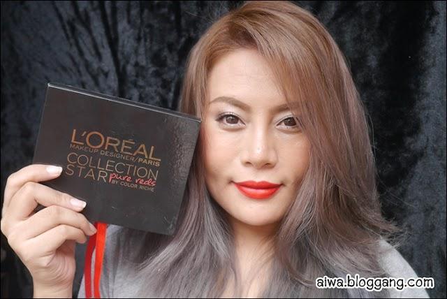 :: รีวิว L'Oreal Color Riche Collection Star Pure Reds 5 สี ::