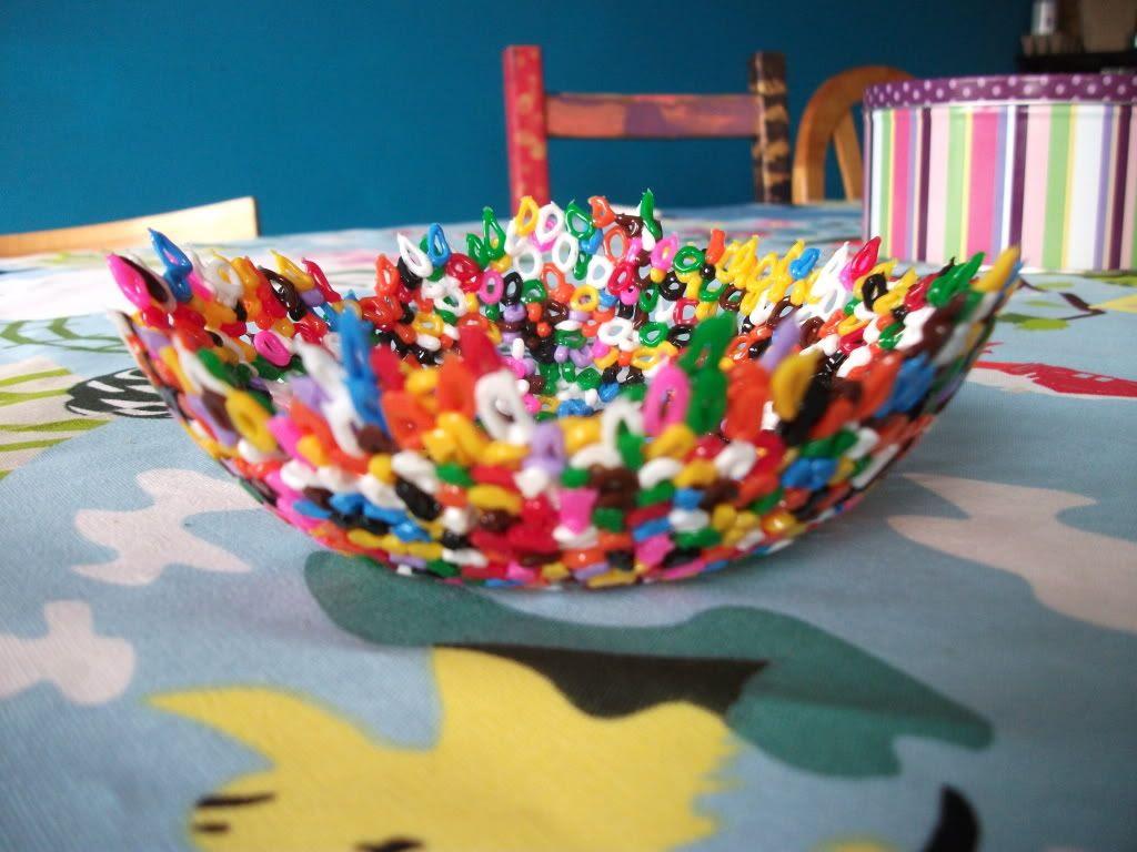 Fusion beads bowl