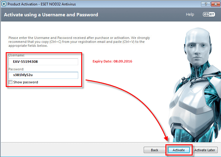 Eset nod32 antivirus 9 license key free download facebook | peatix.
