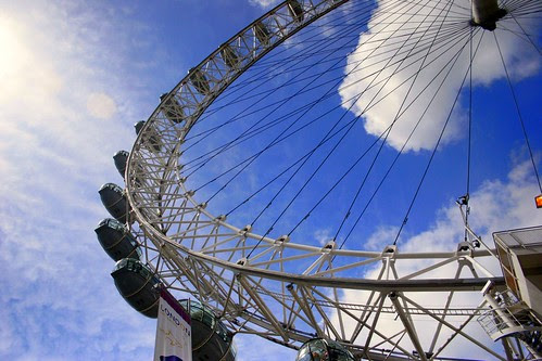 the London Eye May 2006