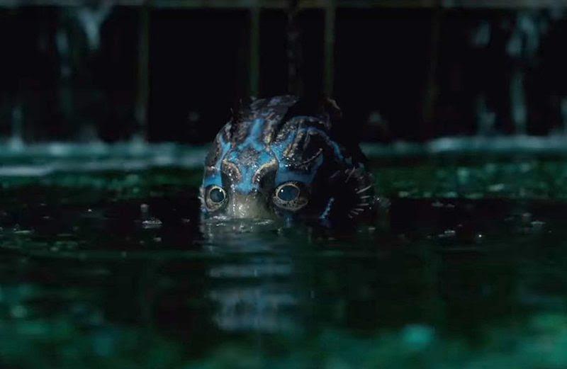 Resultado de imagem para The Shape of Water Guillermo del Toro