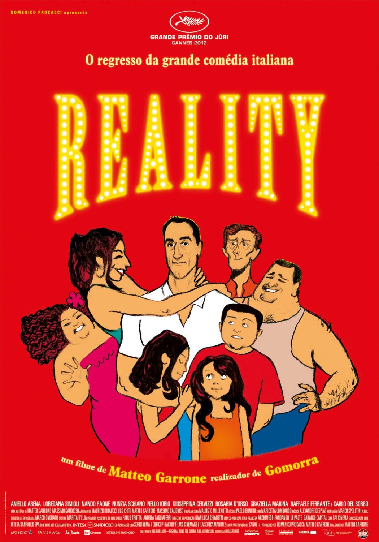 Risultati immagini per reality film poster