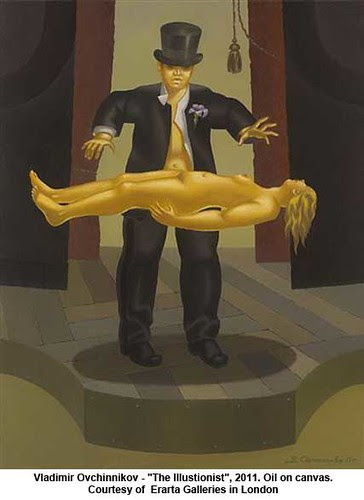 "Vladimir Ovchinnikov - ""The Illustionist"", 2011 by artimageslibrary"