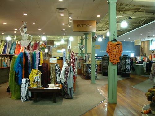 Haberman Fabrics interior