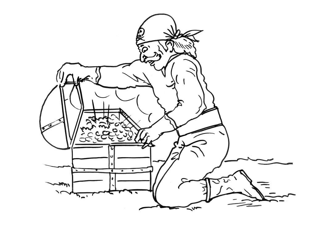 Coloriage pirate  imprimer gratuitement dessins de pirates  imprimer