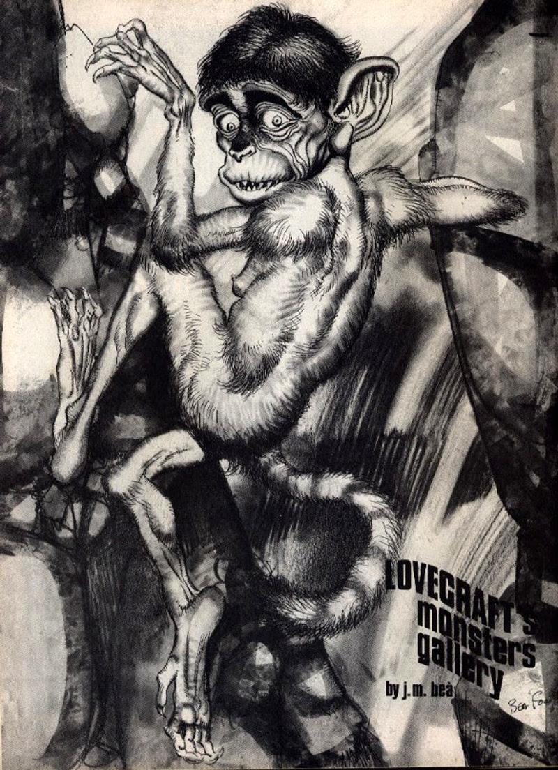 Josep M. Beá - Lovecraft Monster Gallery - 9