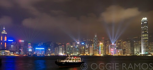 Hong Kong - Light Show II