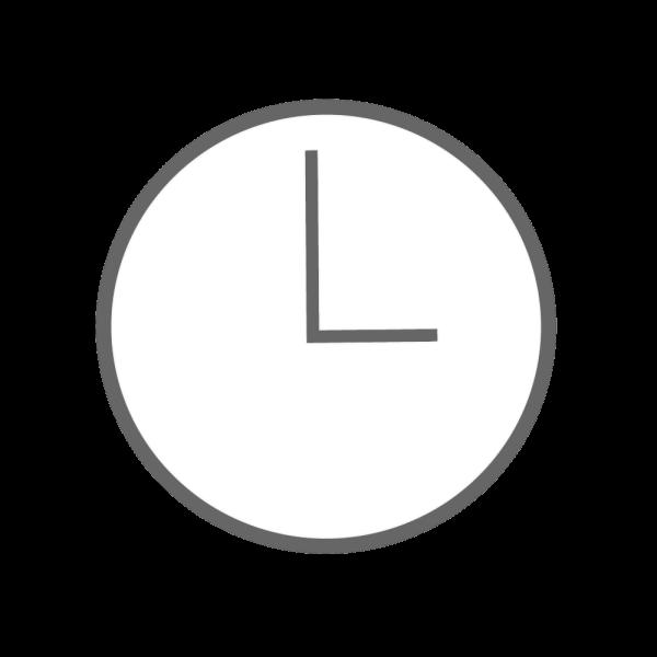 時計3時のイラスト かわいいフリー素材が無料のイラストレイン