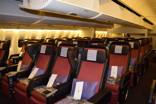 Image result for Japan Airlines 787-9 Economy seats