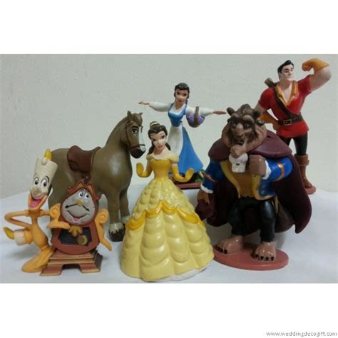 Beauty & the Beast Figurine Cake Topper Decoration