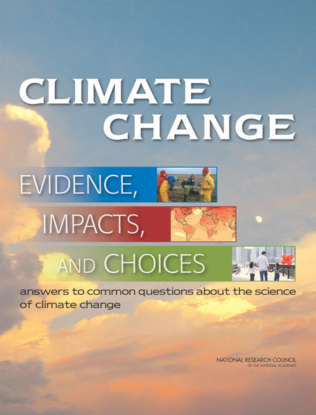 Climate Change: Evidence, Impacts, and                              Choices: PDF Booklet