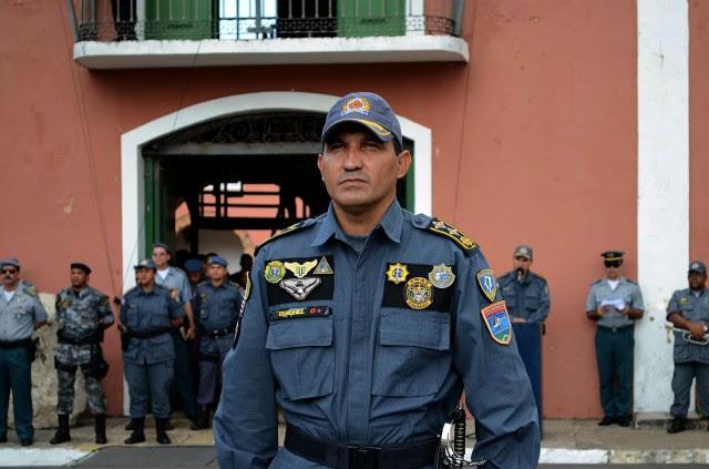 Major Ismael, novo comandante da CPTUR