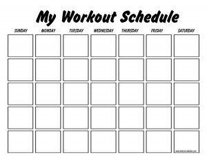 1000+ ideas about Workout Calendar Printable on Pinterest ...