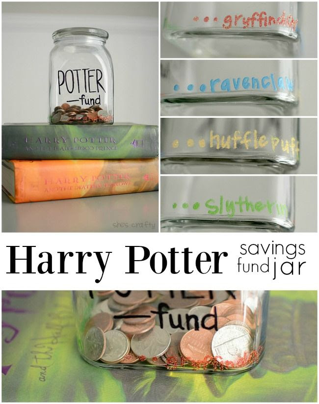 Harry Potter, savings jar, Harry Potter park
