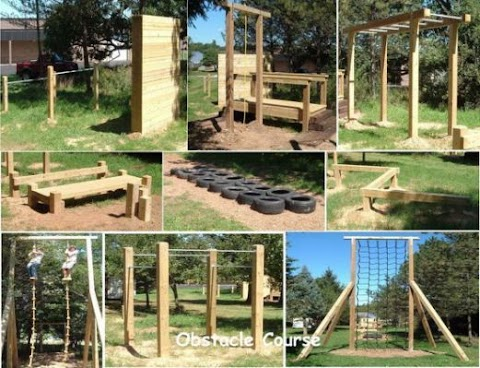 Playground Obstacle Course Ideas