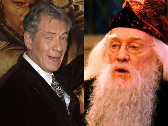 Ο Ιαν ΜακΚέλεν δεν δέχθηκε να παίξει το ρόλο του Ντάμπλντορ στη σειρά των ταινιών «Χάρι Πότερ» γιατί θεωρούσε ότι δεν έπρεπε να το κάνει από τη στιγμή που είχε παίξει ήδη έναν μάγο, τον Γκάνταλφ στον «Άρχοντα των δαχτυλιδιών».