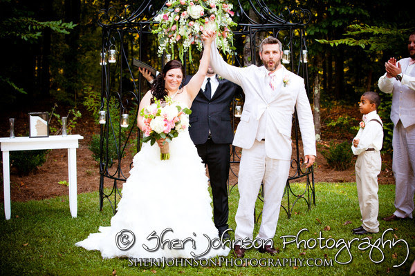 Michele & Jeremy's wedding at The McGarity House in Temple, GA