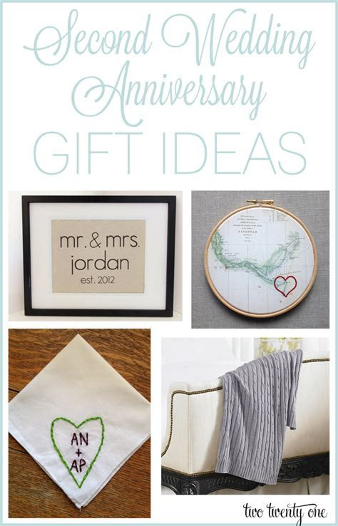 Second Anniversary Gift Ideas   DIY   10th wedding