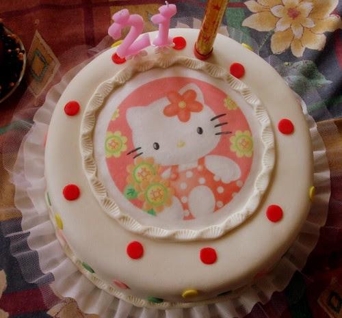 ♥My HK birthday cake♥