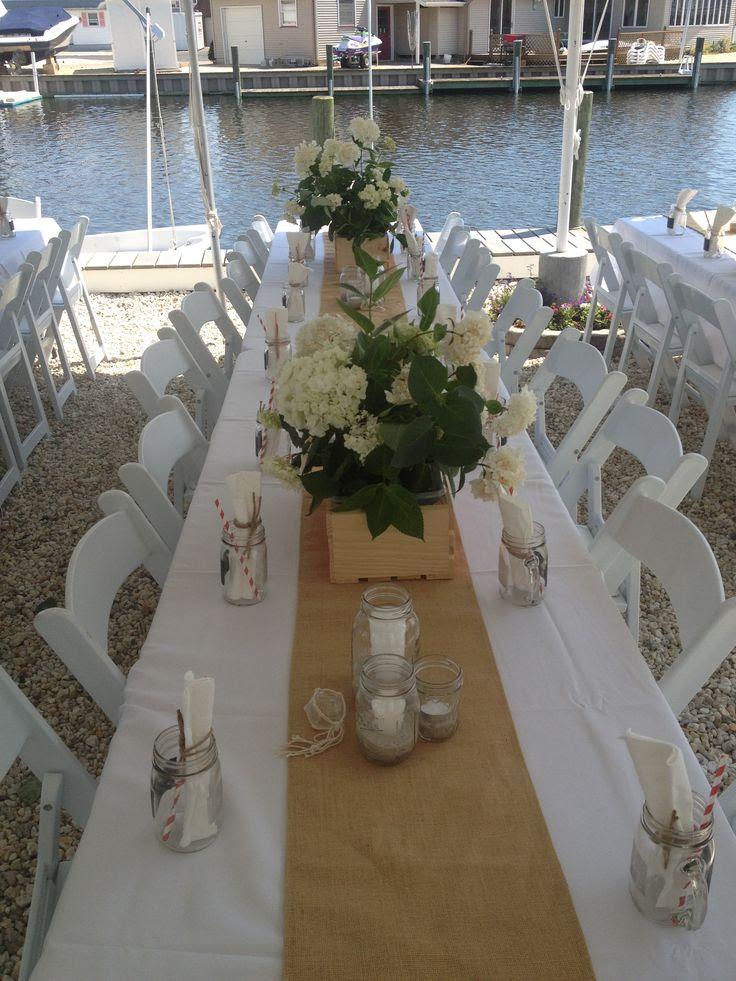 Decorating ideas for backyard weddings