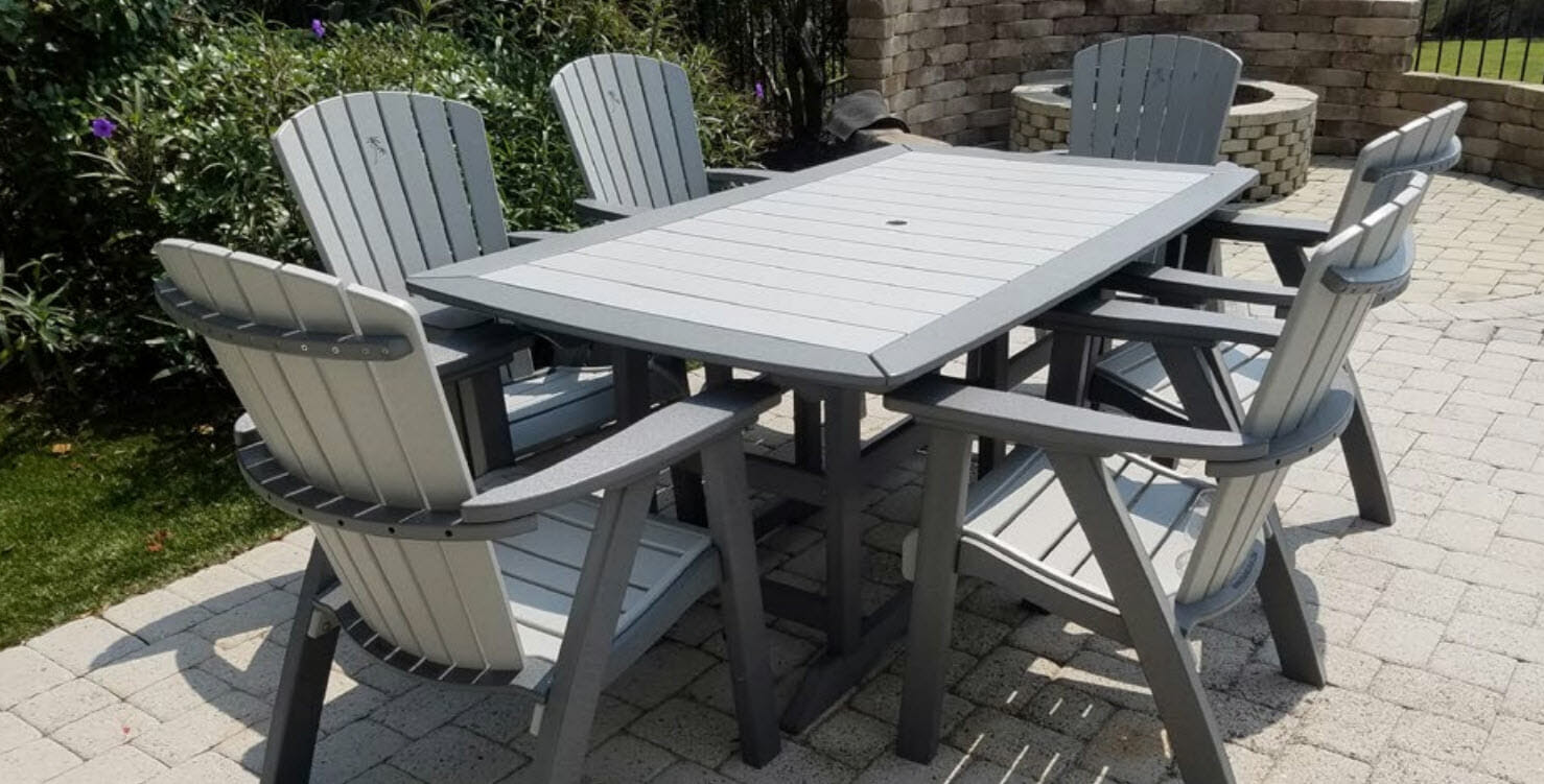 Outdoor Poly Lumber Furniture Amish Outlet Gift Shop