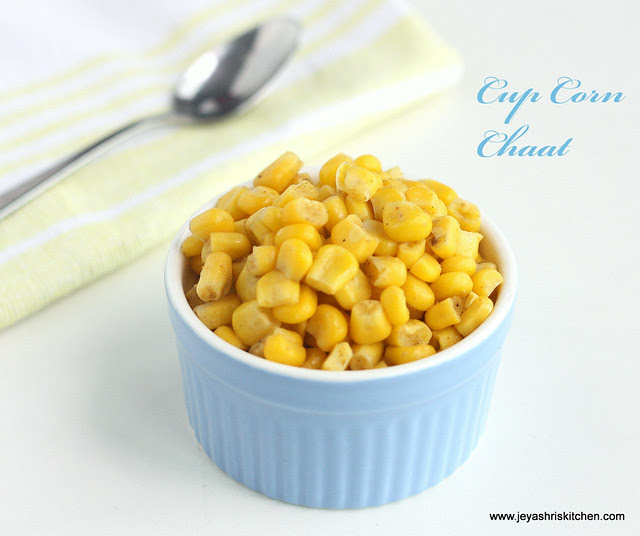 Cup Corn chaat 2