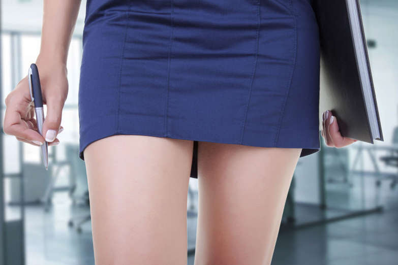 Woman wearing mini skirt. eucyln/Getty Images