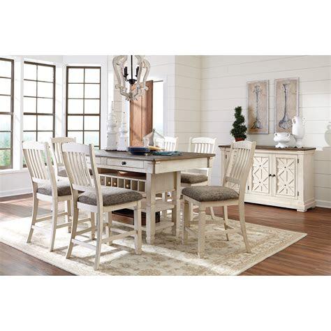 signature design  ashley bolanburg casual dining room