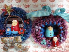 The Matryoshka Wreaths!