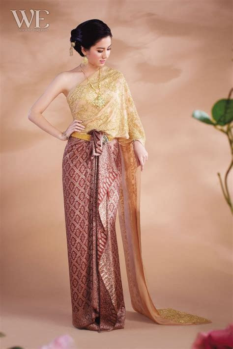 166 best Thai Traditional Dress images on Pinterest   Thai