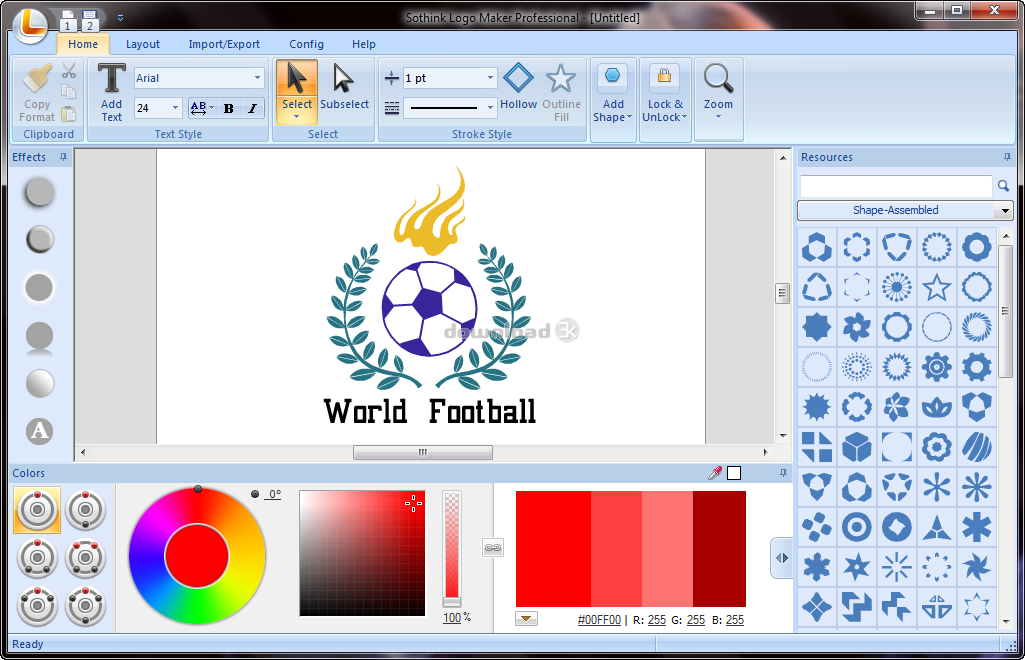 free download logo software for windows 7