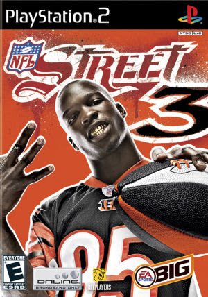 NFL Street 3 Sony Playstation 2 Game