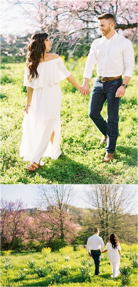 Engagement outfit ideas   a flowy dress with him in jeans