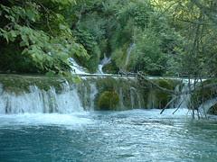 Cascade in Plitvice, Croatia