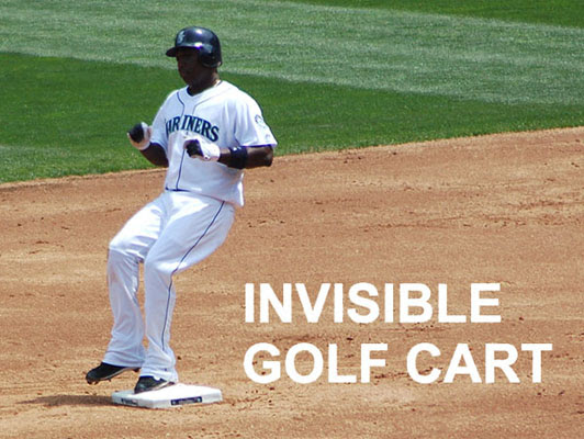 INVISIBLE GOLF CART