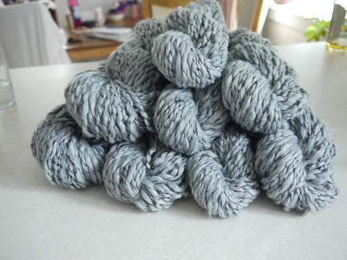 reclaimed sweater yarn