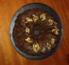 pastel de chocolate a tres vueltas de coletero