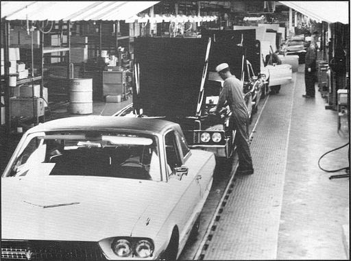 Thunderbird assembly line