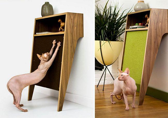 24 móveis que o seu gato vai querer que você compre