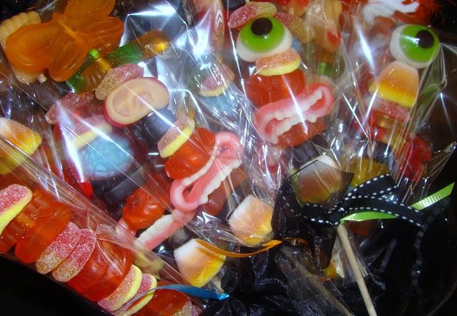 Halloween Candy Kabobs