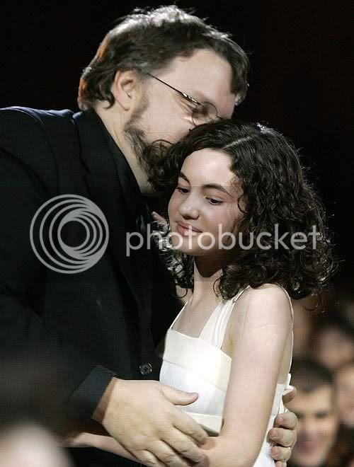 Ivana con Guillermo del Toro