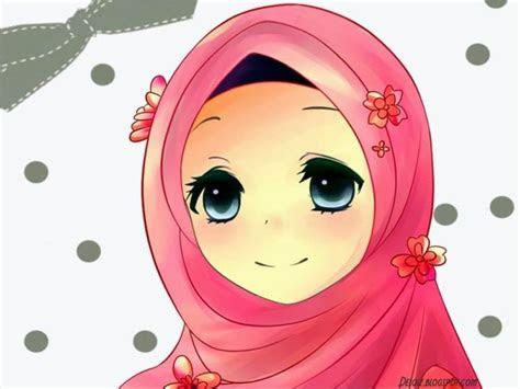 hijab cantik kartun sahabat tutorial hijab terbaru