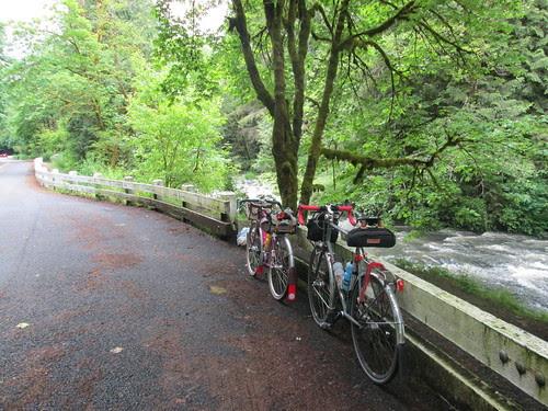 Little Bike and Big Bike at Beaver Falls