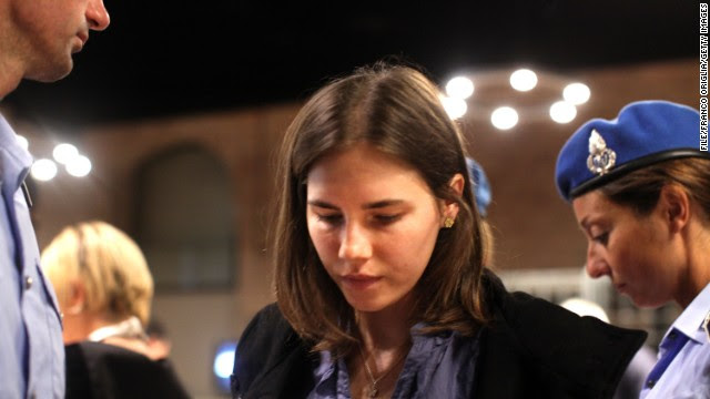 American college student <a href='http://topics.cnn.com/topics/amanda_knox'>Amanda Knox </a>spent four years in jail because of murder charges in the death of her roommate Meredith Kercher while studying abroad in Perugia, Italy. She and her former boyfriend Raffaele Sollecito were convicted in 2009 to 25 years in prison (Sollecito got 26 years). The conviction was overturned in 2011. Here's a look at the characters in Knox's trial: