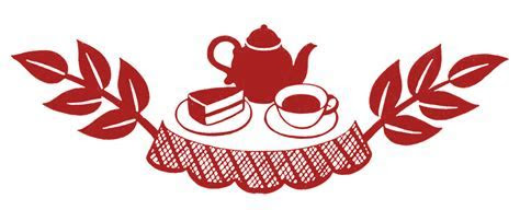 Retro Clip Art   Tea Time Silhouettes   The Graphics Fairy