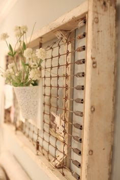 Framed crib spring