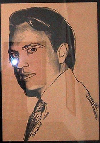 Carter Burden (brown) - Andy Warhol