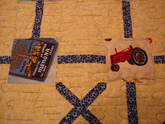 close up once upon a time quilt
